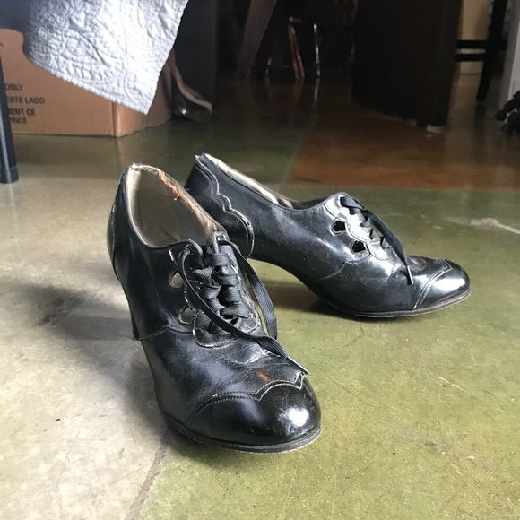 Shoes | True Vintage 193s Heels | Poshmark